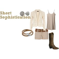 """Short Sophistication I"" by daniellemhayes on Polyvore"