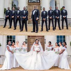 Follow us @SIGNATUREBRIDE on Twitter and on FACEBOOK @ SIGNATURE BRIDE MAGAZINE Wedding Photo List, 35th Wedding Anniversary, Jamaican Wedding, All White Wedding, Black Bride, Wedding Poses, Wedding Engagement, Wedding Vendors, Wedding Pictures