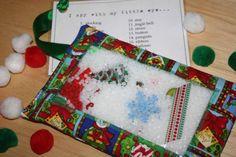 Christmas I Spy Bag