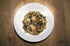 EGOSHE.dk - En madblog med South Beach opskrifter og andet godt...: Spelt-otto med røget laks og spinat