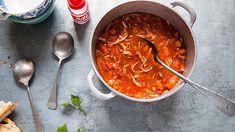 Chicken lentil soup | Chicken soup recipes | SBS Food