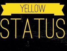 Woo hoo I made a yellow status I'm sooooo happpppiiiiiiiiie