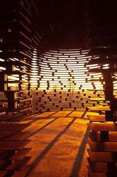 Une étonnante chapelle transparente (image)