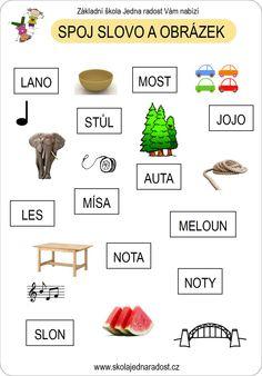 Spoj slovo a obrázek - genetická metoda čtení pro prvňáčky
