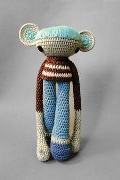 Amigurumi Wire : 043 Horse White Dream with wire frame - Amigurumi Crochet ...