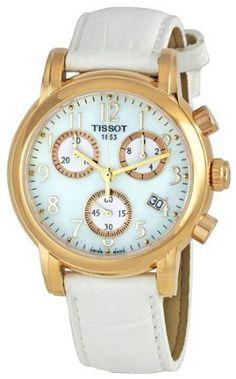 433b0e6d2201 Tissot T Classic Dressport Chronograph Womens Watch T050.217.36.112.00 Fine  Watches