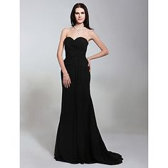 FELISA - Vestido de Noche de Gasa - USD $ 85.49