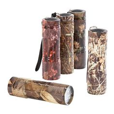 Shop Basics™ 5-Pack Camo LED Flashlights