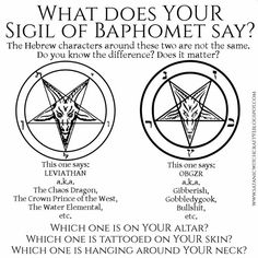 Pagans don't worship Satan. The pentacle has been used for