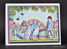 Florence Langley Alice In Wonderland Card 1 003Awm