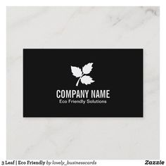3 Leaf | Eco Friendly Business Card