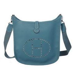 440cb49bc038 Wholesale Réplique Hermes Evelyne Messenger Bag H1608 Light Bleu - €213.43    réplique sac a main, sac a main pas cher, sac de marque   sac hermes  evelyne ...