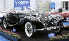 RECORD SALES AT PEBBLE BEACH - #1 - 1936 Mercedes-Benz 540K Special Roadster | $11.8 million | Gooding & Co.