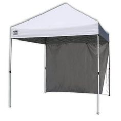 Quik Shade Commercial 10 Instant Canopy with Wall Panel White Description Get out of the sun without missing the fun! The Quik Shade Commercial 10