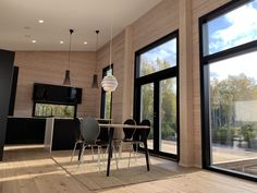 #modernkitchen #blackkitchen #newhome #blackdetails #woodenhouse #kitchendesign #sisustus #interiordesign