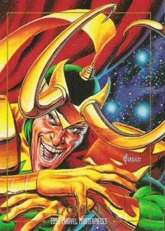 Marvel Masterpieces Series 1 1992 [Marvel- Skybox] Card Set, Issue #0050a.