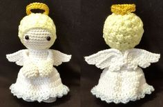Rag Doll Tutorial, Crochet Angels, Amigurumi Doll, Dolls, Christmas Ornaments, Holiday Decor, Handmade, Animals, Home Decor