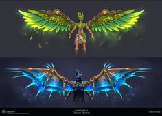 Fantasy Character Design, Character Inspiration, Character Art, Technical Artist, Wings Design, Weapon Concept Art, Fantasy Characters, Animals Beautiful, Game Art