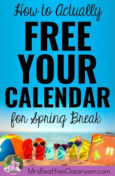 Teacher, Spring Break is a time for you to rest, recharge, and do things for yourself, not to catch up on school work. Leave school at school and truly enjoy your Spring Break with these 5 simple tips to free your calendar! Teaching Supplies, Teaching Jobs, Teaching Resources, Homework Bingo, School Frame, Getting A Massage, Teacher Inspiration, Meet Friends, Frame Of Mind