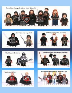 I want the whole damn set!!! Google Image Result for http://www.eatsleepgeek.com/wp-content/uploads/2011/07/Lego-Game-of-Thrones.png