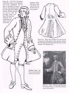 17oo's men's fashion   1700's Men's Fashion.   18th century style