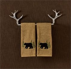 Antler towel bar  \ Click here to view larger image