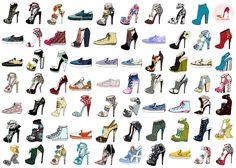 shoes design app_ YOU ARE THE DESIGNER_ SHOES DESIGN
