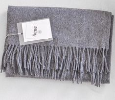 <3 this grey Acne Scarf