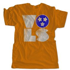 Vols Tri Star T-Shirt | Retro UT Tennessee Vols Tank Top, Dress | One 10 Threads