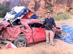 Fly Baby Fly Top Gear USA Final episode sends Rental Mustang hang gliding over cliff   Mustang Heaven