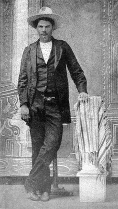 John Wesley Hardin was a gunfighter he was one of the deadliest killers of that era he once shot a man through a wall for snoring and even Wild Bill wanted no part of him