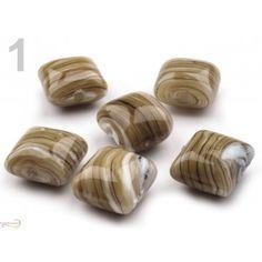 Korálky porcelánové č. 48