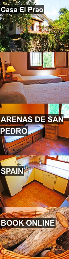 Hotel Casa El Prao in Arenas de San Pedro, Spain. For more information, photos, reviews and best prices please follow the link. #Spain #ArenasdeSanPedro #travel #vacation #hotel