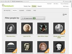 FamilySearch People Page - Find photos of your ancestors on FamilySearch