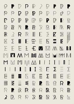 A bicyclette avec des lettres