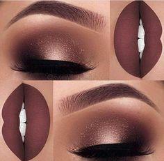 Makeup tutorial dark skin lips 41 Super ideas Make-up Tutorial dunkle Haut Lippen 41 Super Ide Gorgeous Makeup, Pretty Makeup, Fall Makeup Looks, Autumn Makeup, Glamorous Makeup, Flawless Makeup, Simple Makeup, Beauty Makeup, Homecoming Makeup