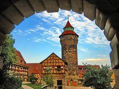 Nuremberg Castle in Bavaria, Germany  via werner boehm