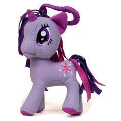 My Little Pony Friendship Is Magic 3 Inch Twilight Sparkle Plush Clip Figure - Radar Toys