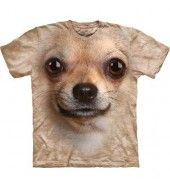 Chihuahua Face T Shirt - By the Mountain