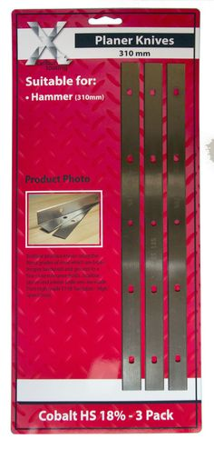 310 mm M42-HS PACK of 4 S702S2 Planer Knives for FELDER System