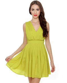 Lime dress, $50.  Good, cheaper substitute to the Madewell one?
