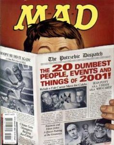 mad magazine in Books, Comics and Magazines Magazine Format, Mad Magazine, Magazine Covers, Dumb People, Mad World, Magazine Articles, Cover Pages, Comic Covers, Stunts