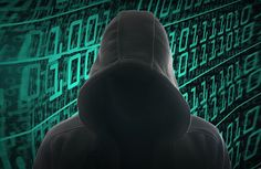 Hacker with a hoodie