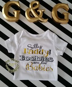 e29f30ff9 11 Best Funny Gold and Glitter Baby Onesies images