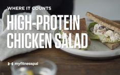 Recipe: High-Protein Chicken Salad [Video]