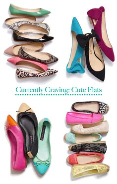 Currently Craving: Cute Flats {ForChicSake}