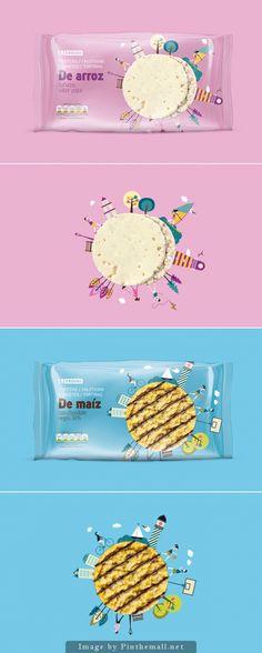 Eroski\'s Rice And Corn Snacks by SupperStudio