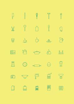 In The Kitchen by Wojciech Zasina (via Creattica)