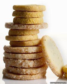 Rosemary Butter Cookies Recipe | Martha Stewart