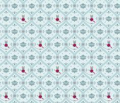 Read more about this design on my webpage:  http://halinatran.wordpress.com/portfolio/cat-damask-spoonchallenge/